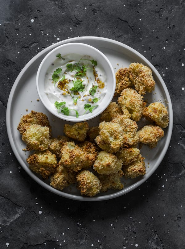 best and worst cooking methods - deep fried cauliflower