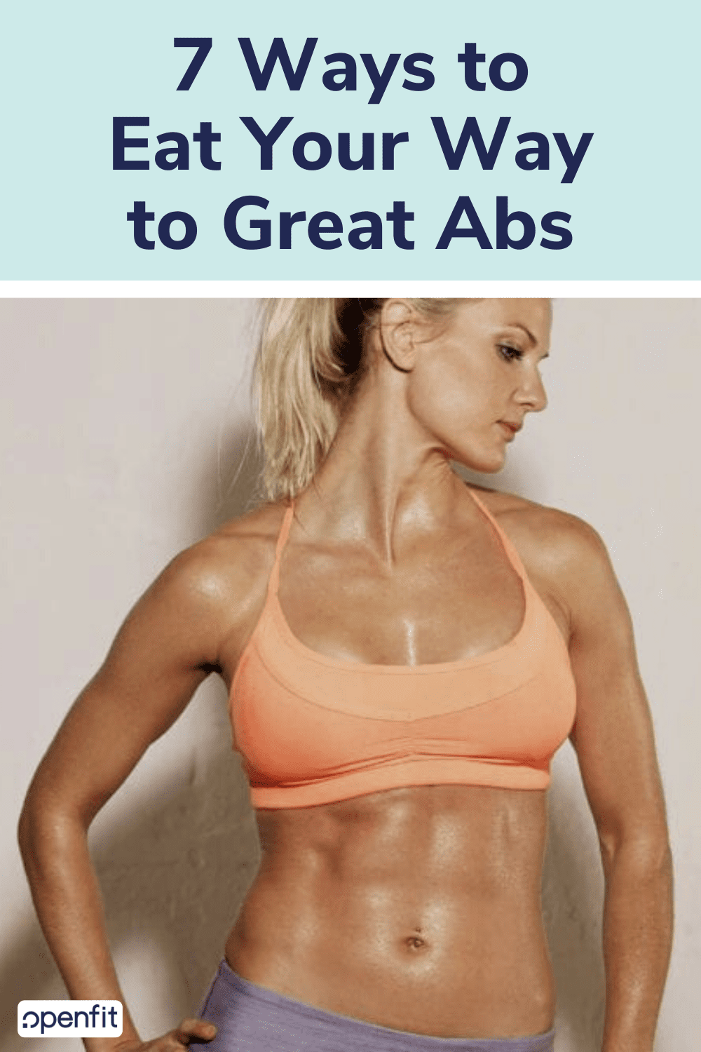 eat your way to great abs pin image