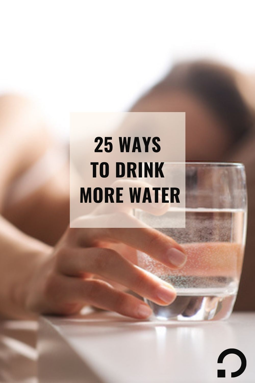 pin image for 25 ways to drink more water | ways to drink more water