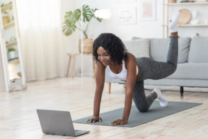 stream a workout -- travel fit tips