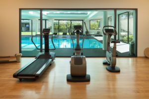 take advantage of hotel amenities -- travel fit tips