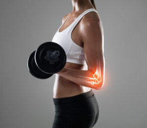 build strong bones -- weightlifting for women
