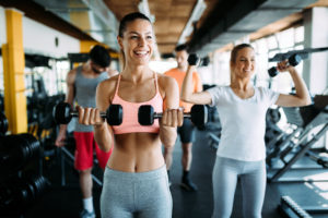 boosts mood -- weightlifting for women