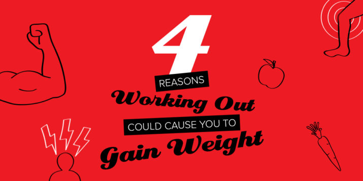 4 Reasons Working Out Could Cause You to Gain Weight