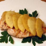 Grilled Chicken with Honey Apples
