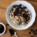 Oatmeal with Ginger and Molasses