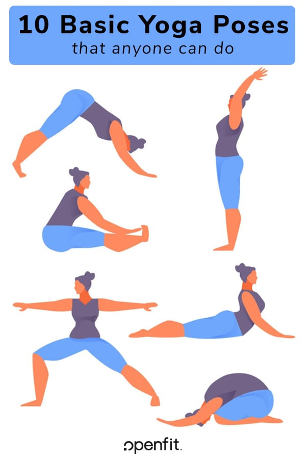 10 Basic Yoga Poses That Anyone Can Do Openfit