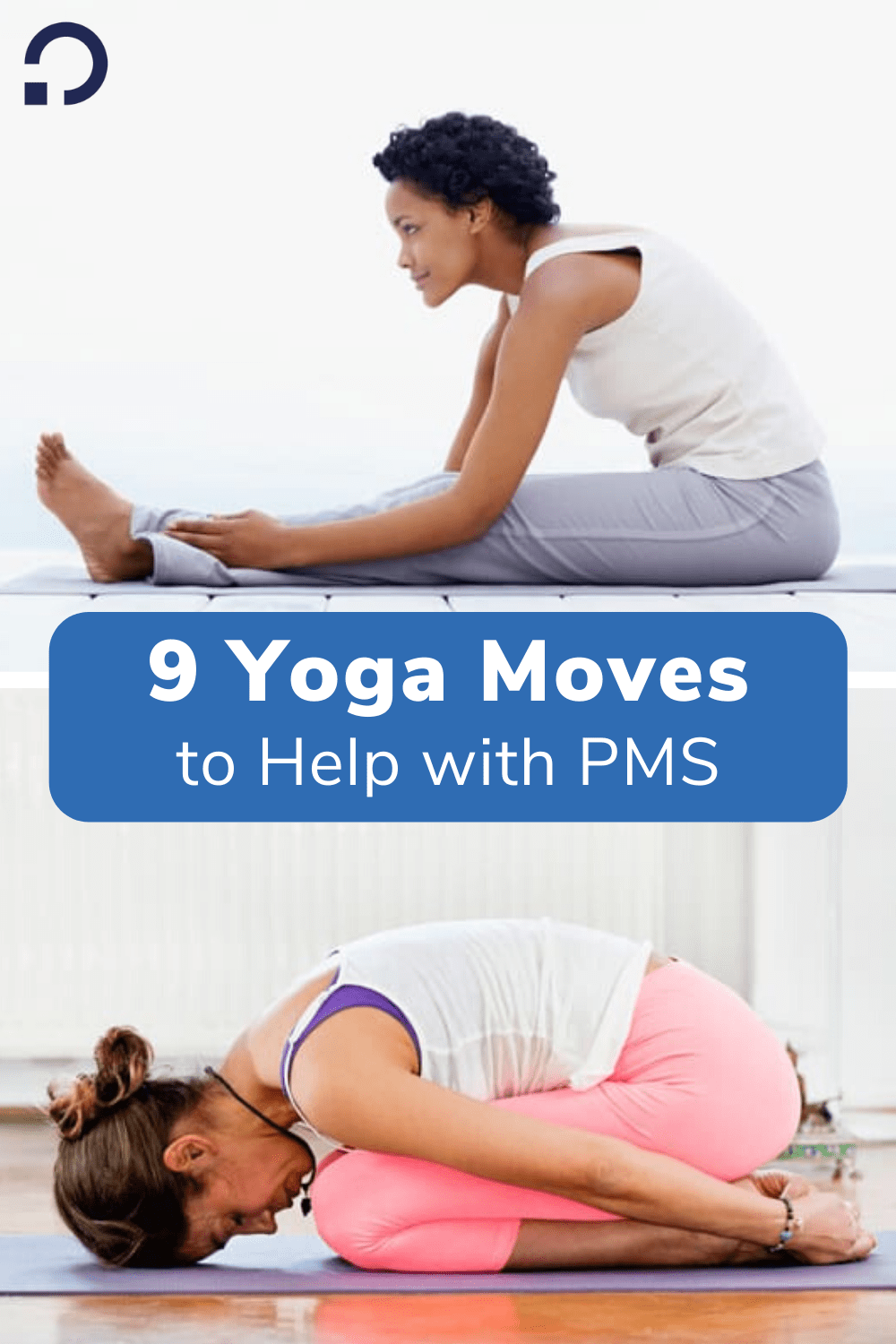 yoga for pms - pin image