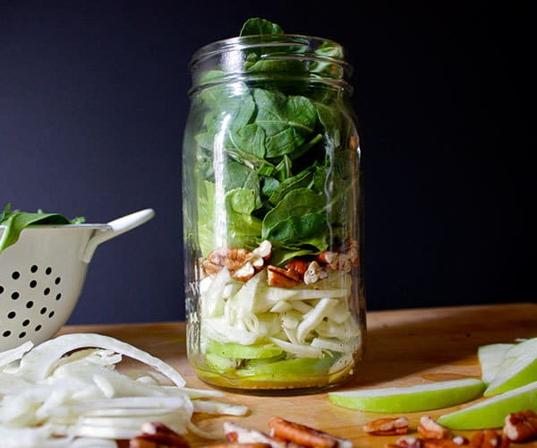 Apple, Fennel, and Arugula Salad