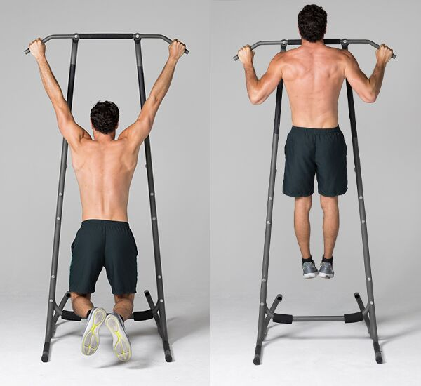 bodyweight exercises for chest - Regular Pull-Up