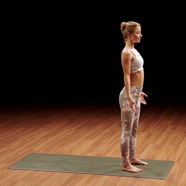 mountain pose - yoga52 - odette hughes - standing yoga poses for beginners