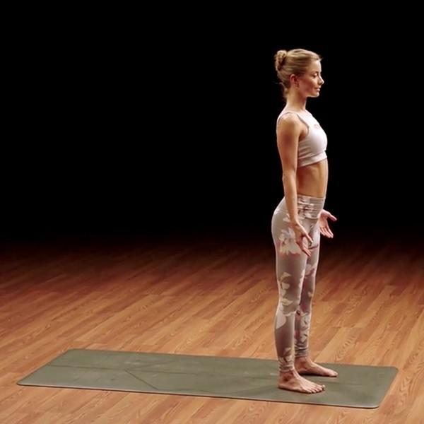 mountain pose - yoga52 - odette hughes