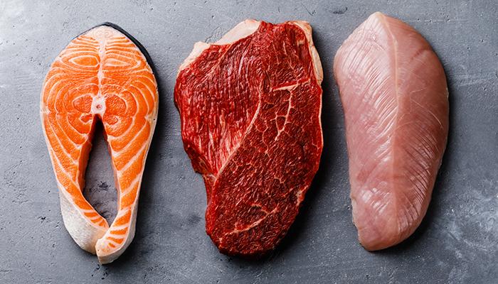 fish salmon beef steak poultry chicken | beta alanine benefits