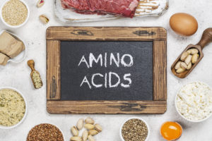 amino acids like to Hang out together