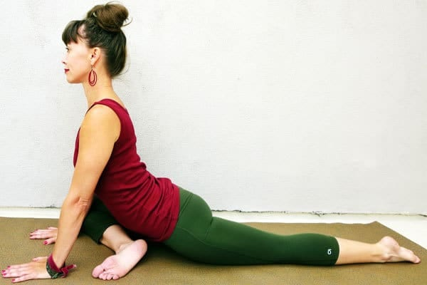 Yoga Poses for Hip Pain - Pigeon Pose