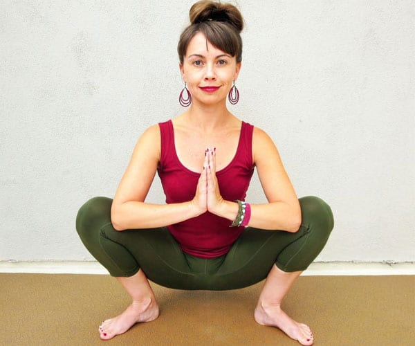 Yoga Poses for Hip Pain - Garland Pose