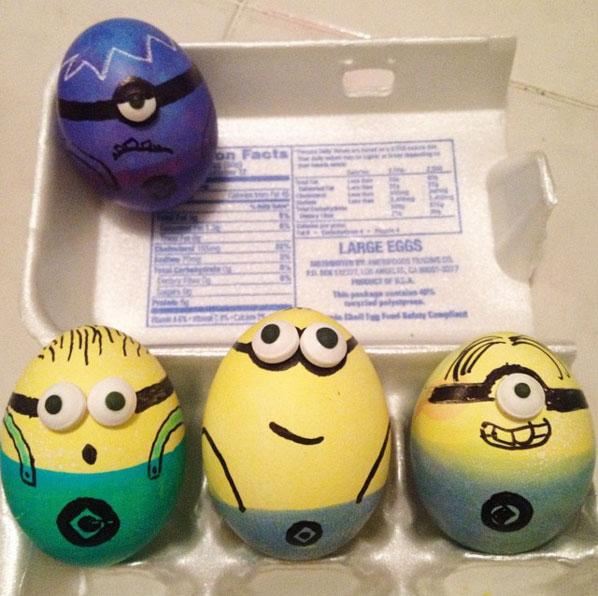 Minions Easter Eggs