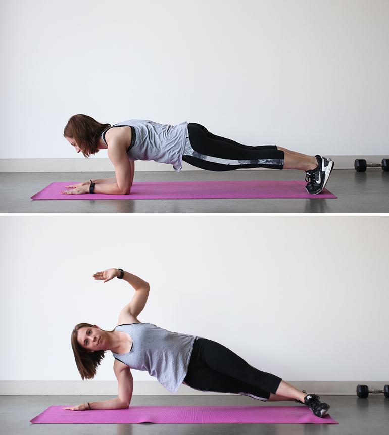 Rolling Plank