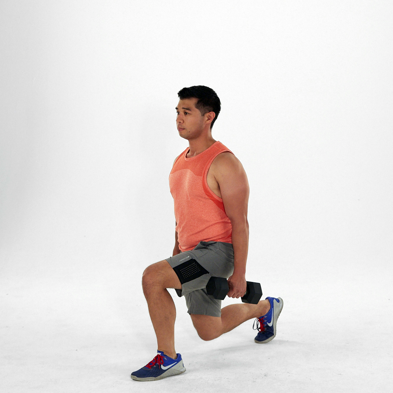 front lunge how to