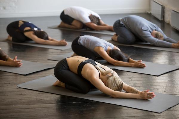hot yoga- yoga class