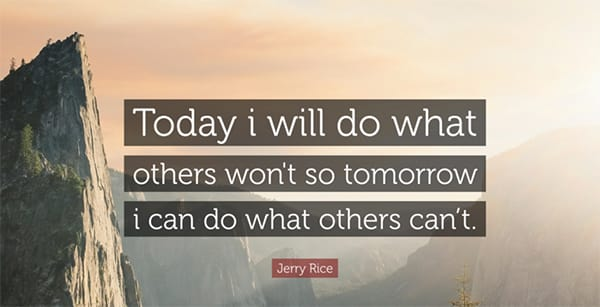 Motivational Quotes: Jerry Rice