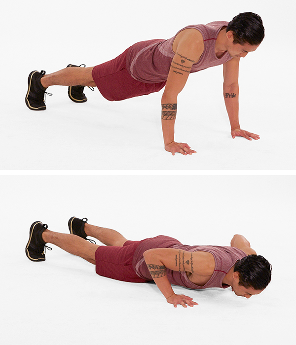 fitness modifications - push ups
