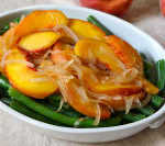 Peach and Green Bean Salad