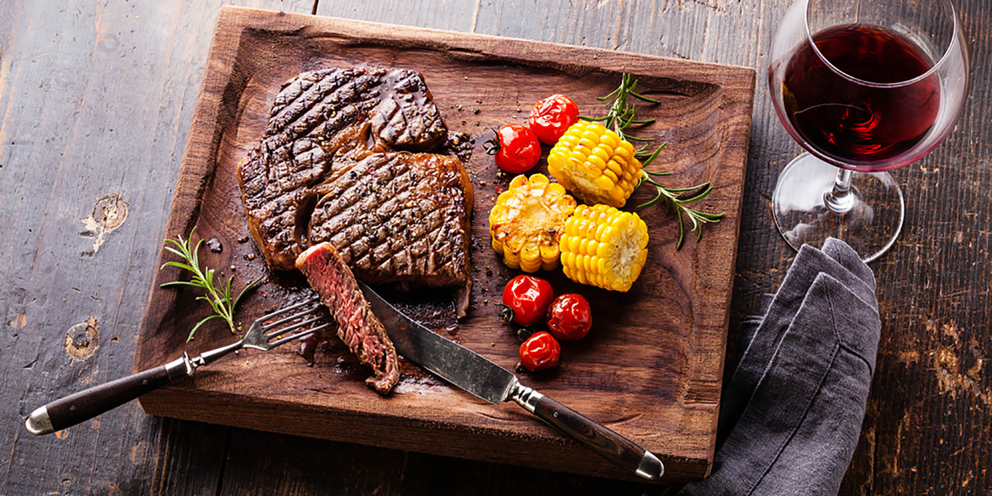 Did You Know Steak and Red Wine Are Healthier Together?