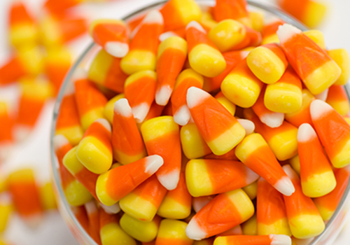 bowl of candy corn | worst halloween candy