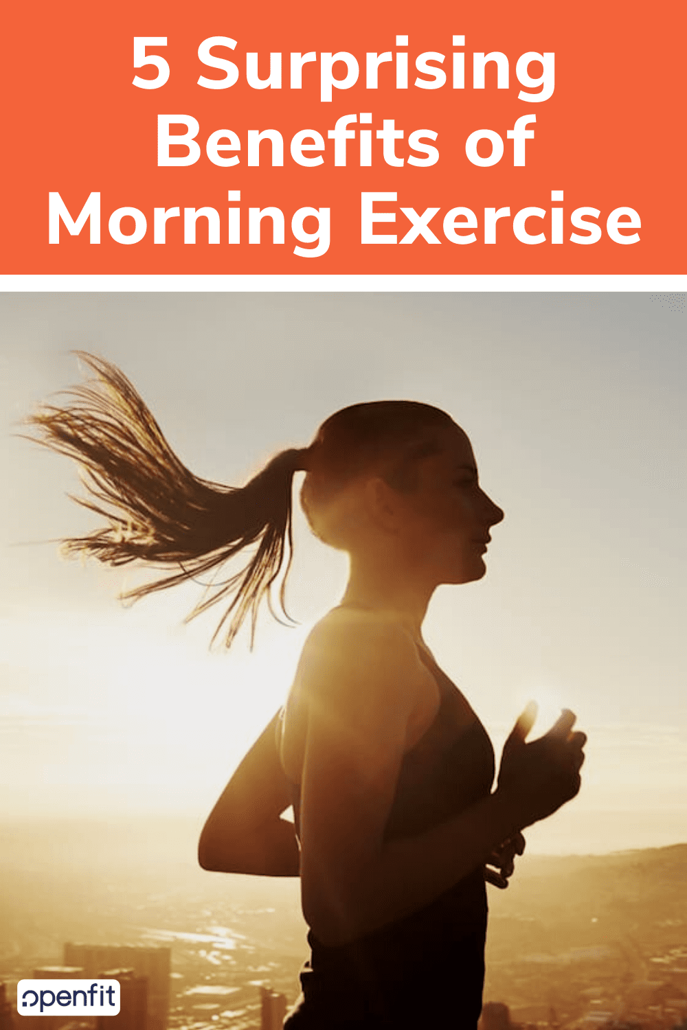 benefits of morning exercise pin image
