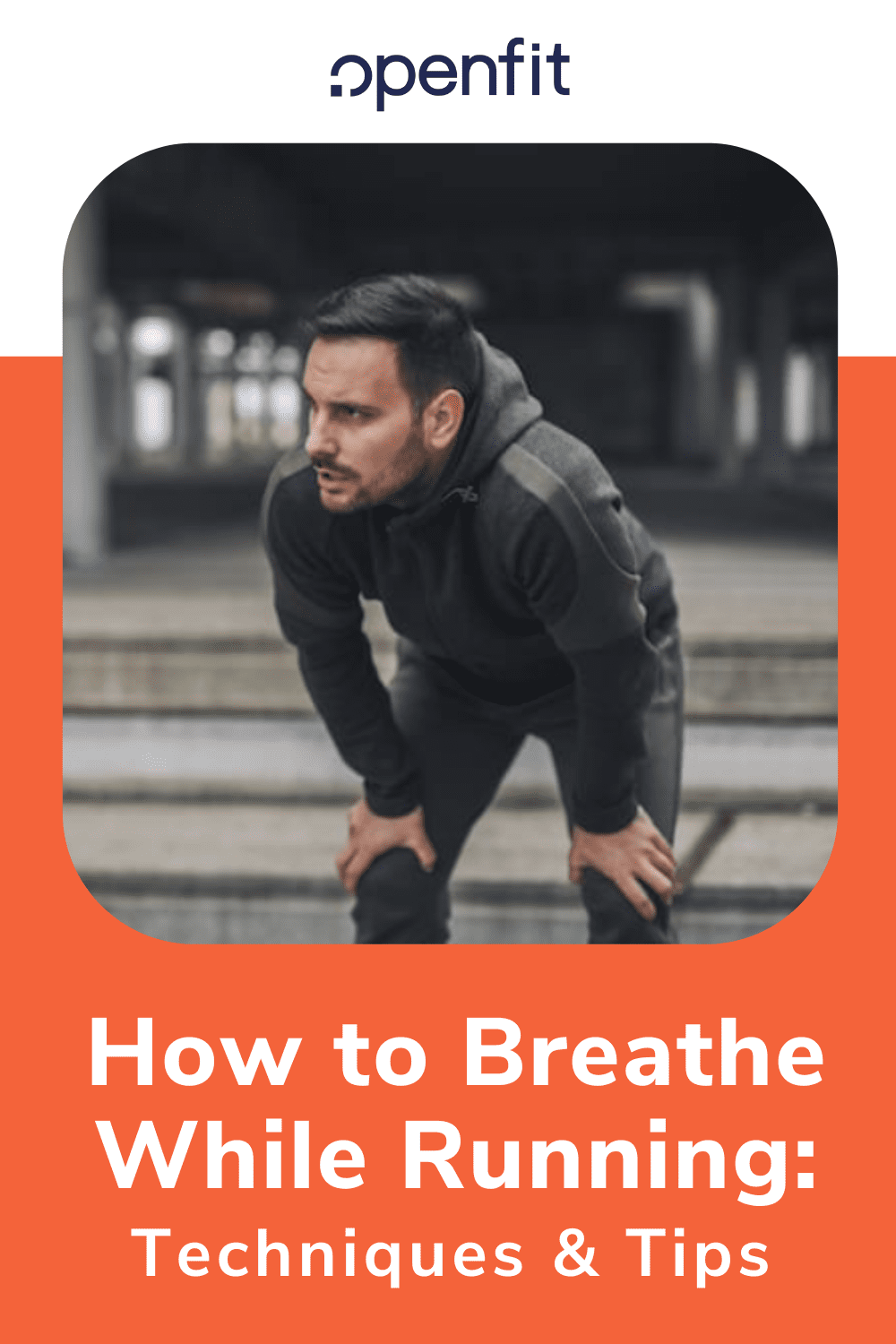 breathe while running pin image