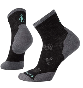 Smartwool Women's PhD Run Cold Weather Mid Crew -- best cold weather exercise gear