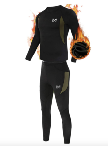 Men's Thermal Underwear Set--best cold weather exercise gear