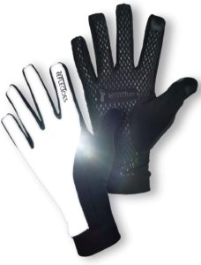 ReflecToes Reflective Running Gloves -- best cold weather exercise gear