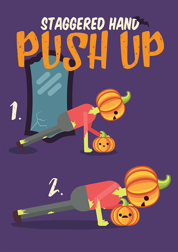 Pumpkin Exercises to Do This Halloween
