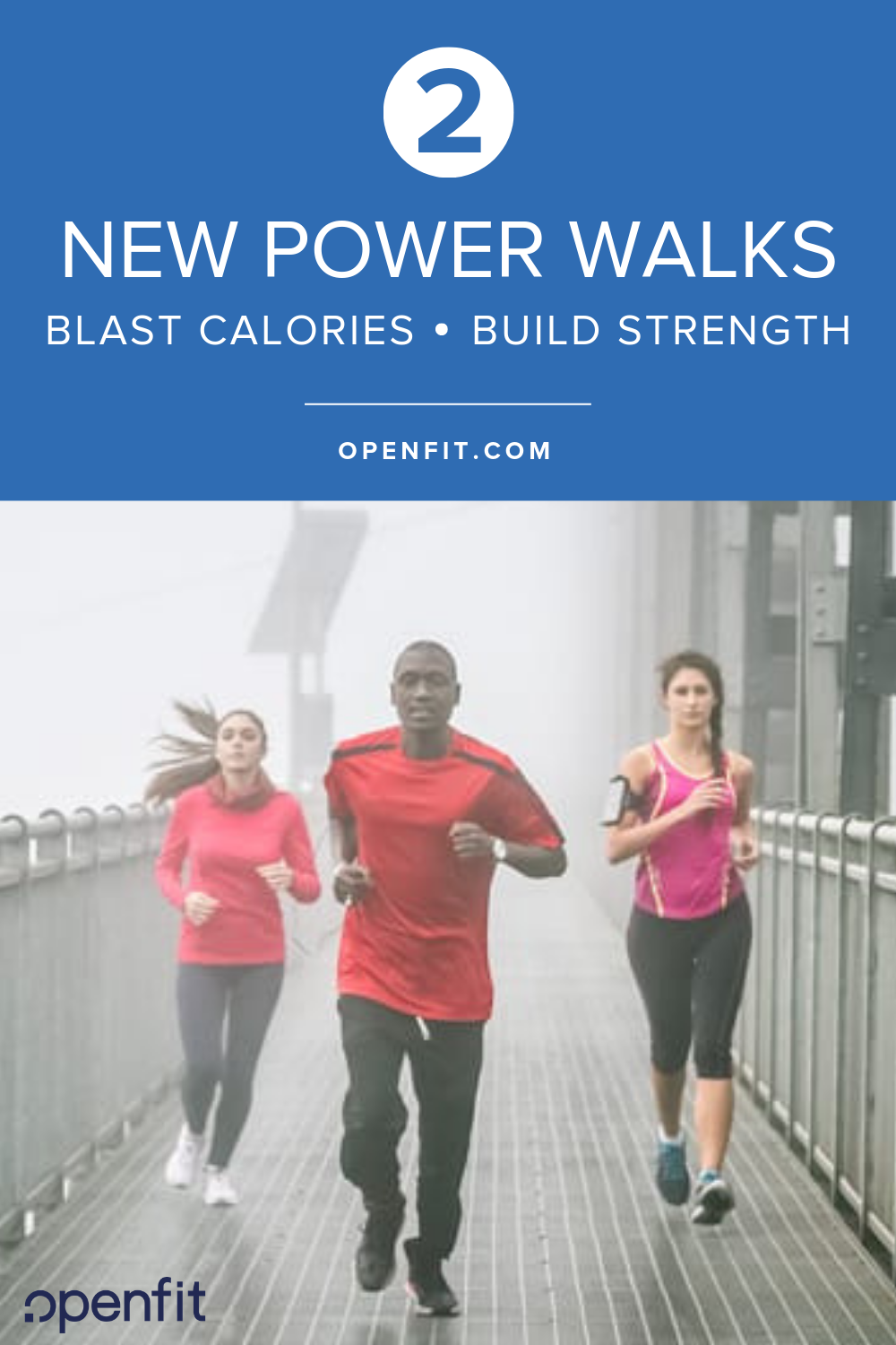 new power walks