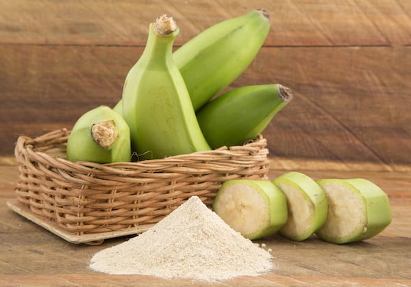 banana flour - bananas and flour