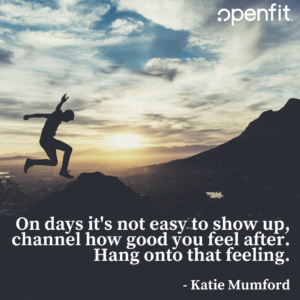 openfit trainer quotes katie mumford