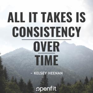 openfit trainer quotes kelsey heenan