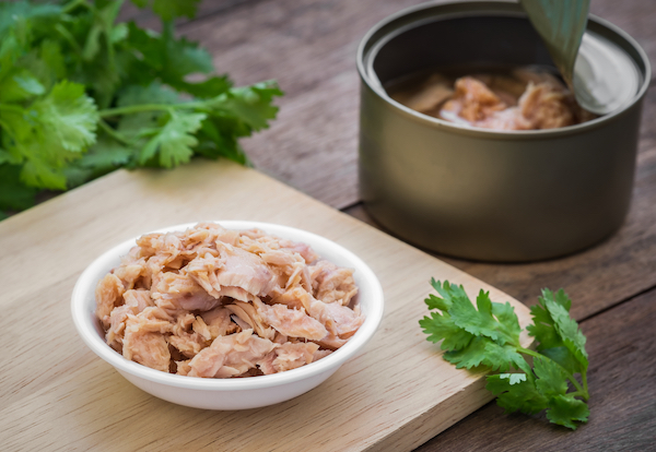 best protein sources - canned tuna