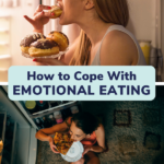 how to cope with emotional eating pin
