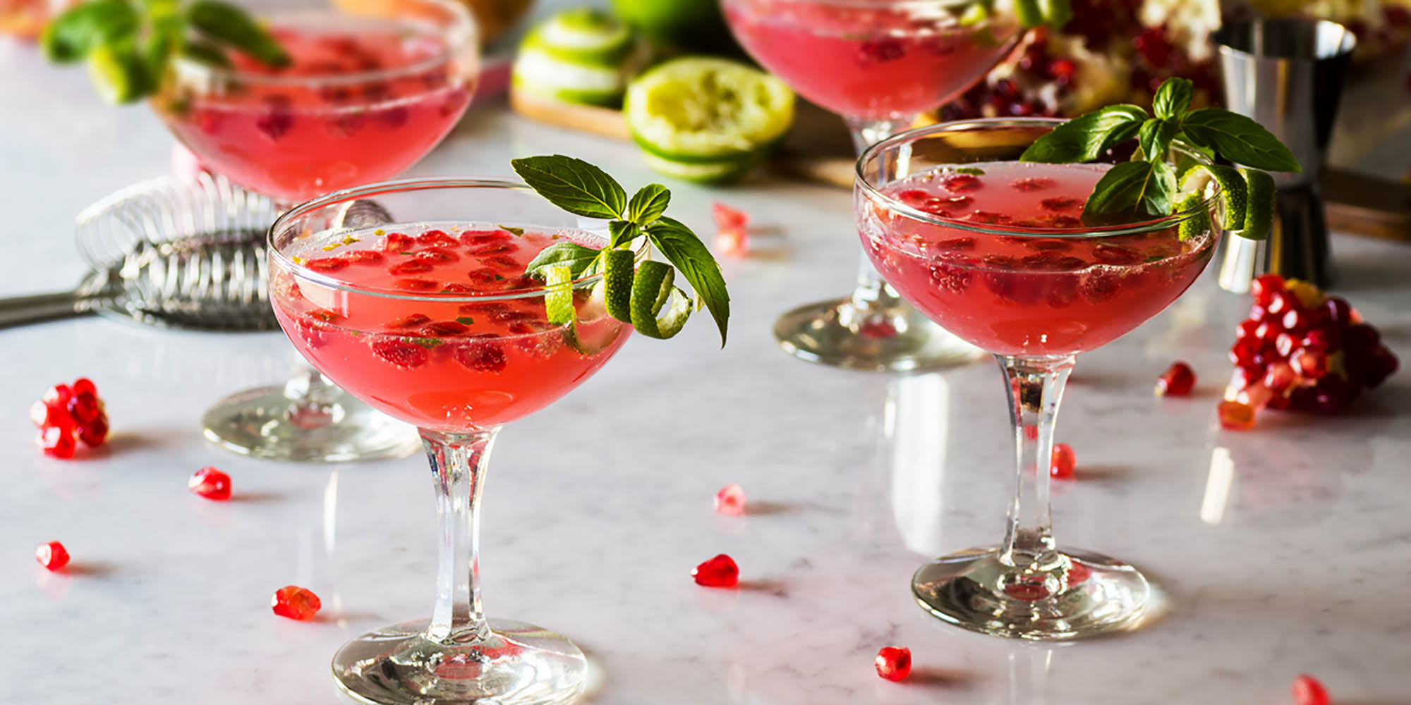 Fancy Sparkling Drinks for Your Next Party