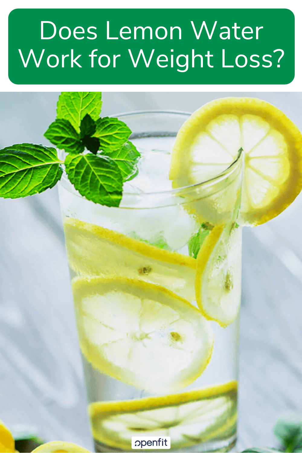 lemon water pin image