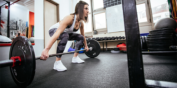 deadlift woman | muscle building tips