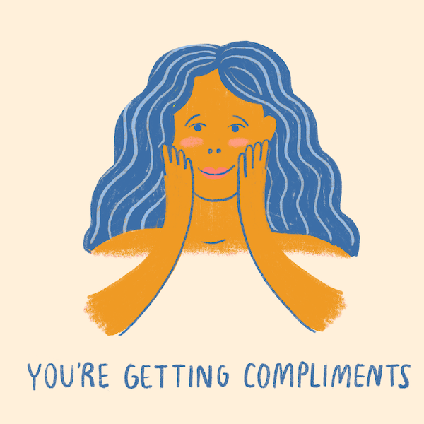 non scale victories- getting compliments