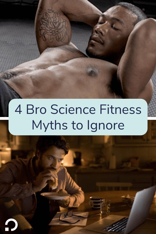 bro fitness myths pin image