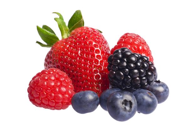 mind diet- mixed berries
