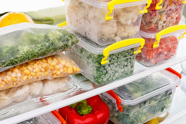 keep food from spoiling- frozen meals
