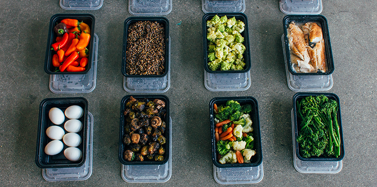 Save Time with this Buffet-Style Meal Prep for Any Calorie Level