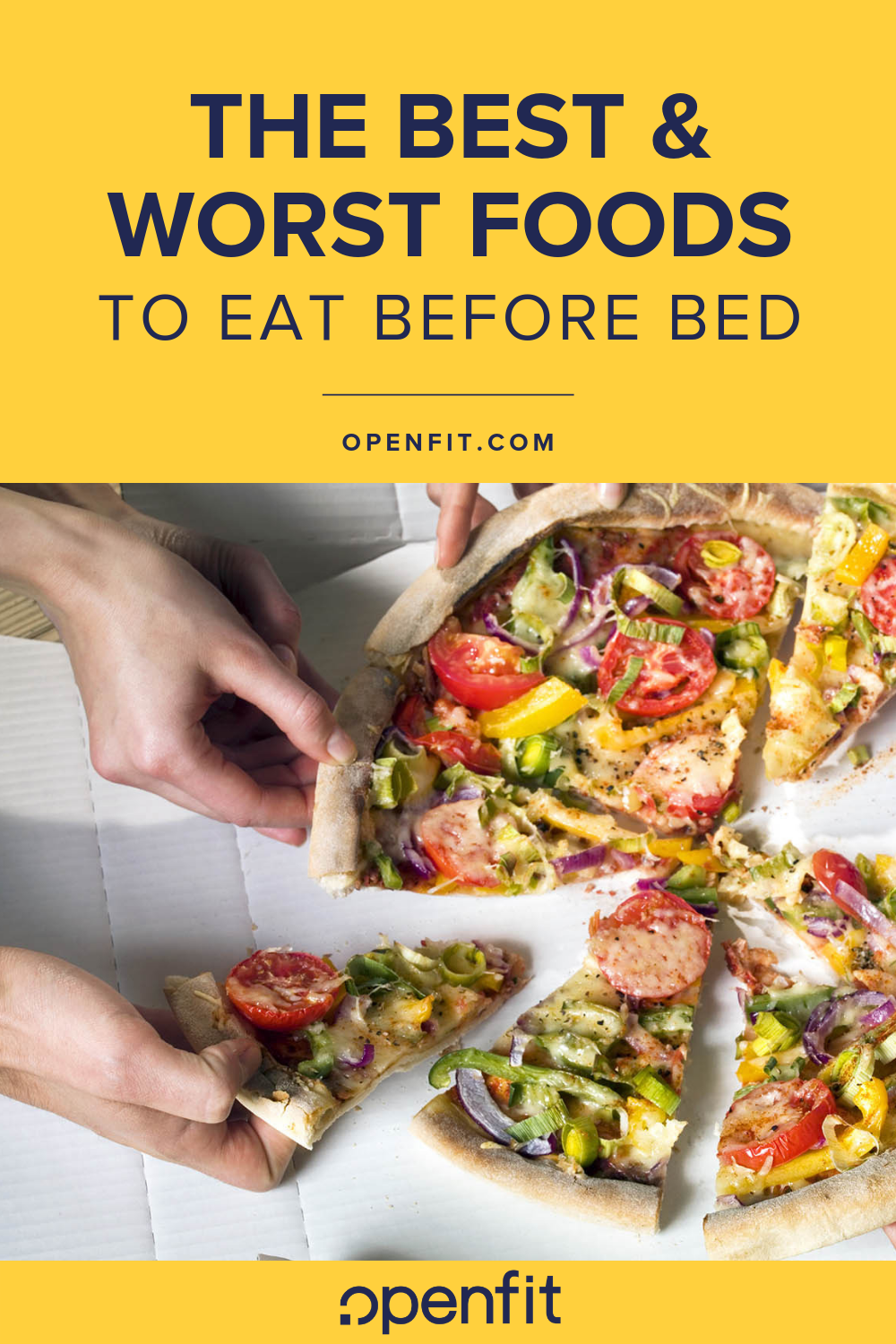 best and worst foods before bed